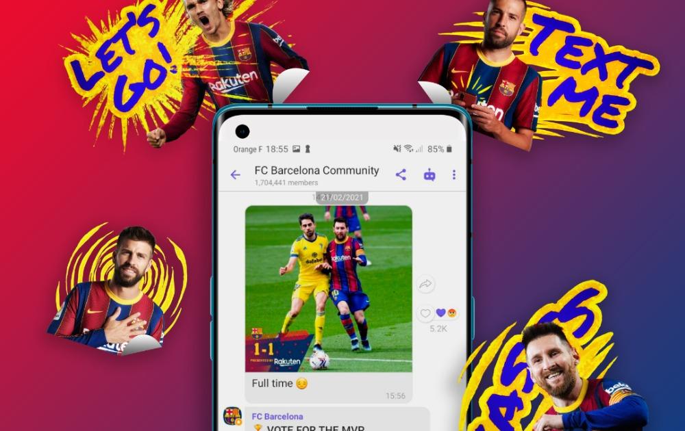 Saradnja sa FK Barselona: Rakuten Viber predstavio aktivnosti za 2021. godinu