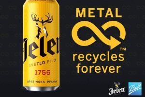 """""""Jelen pivo"""" daje snažnu podršku reciklaži limenki"""