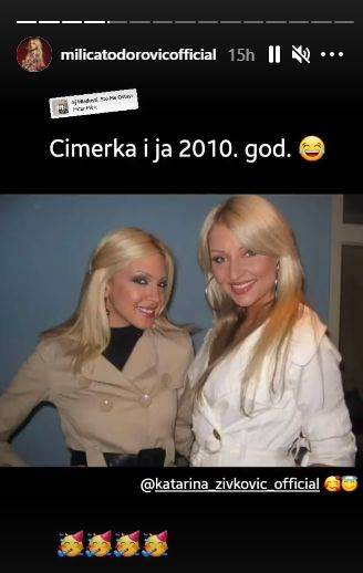 Milica Todorović podelila uspomenu sa Katarinom Živković i nasmejala pratioce!
