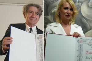 Božica Velousis i Miki Manojlović nagrađeni prestižnim priznanjima!