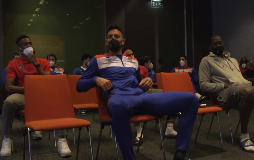 EMOTIVNI MICIĆ: Evo kako je Vasa reagovao kada je saznao da je MVP Evrolige