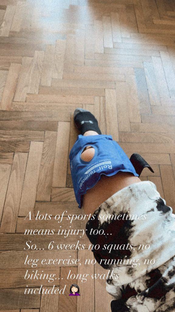 Emina Jahović povredila nogu!