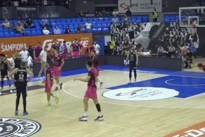 Partizan dobio Megu i izjednačio u polufinalnoj seriji