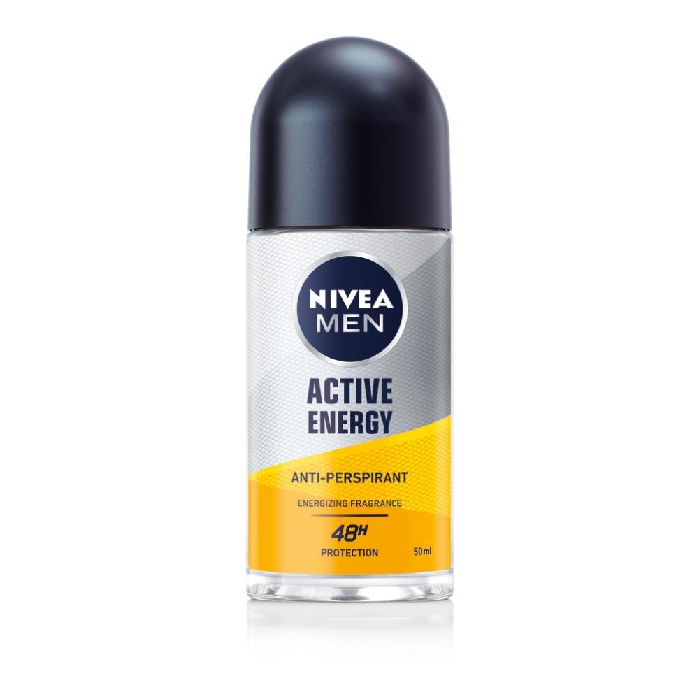 NOVO: NIVEA MEN ACTIVE ENERGY GEL ZA TUŠIRANJE i DEZODORANS za dinamičan početak dana