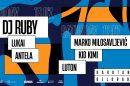 Andergraund progressive house izvođač Ruby i lokalni muzički heroji ovog vikenda u Barutani