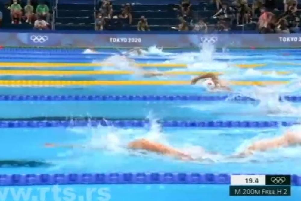 Stjepanović u polufinalu na 200 metara slobodno