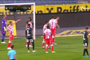 Zvezda igrala 1:1 sa Šturmom u prijateljskoj utakmici
