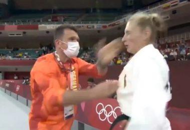 Snimak OLIMPIJKE koju trener šamara pre meča izazvao je bes: Martina je javno reagovala i objasnila šte se krije iza OVOG VIDEO
