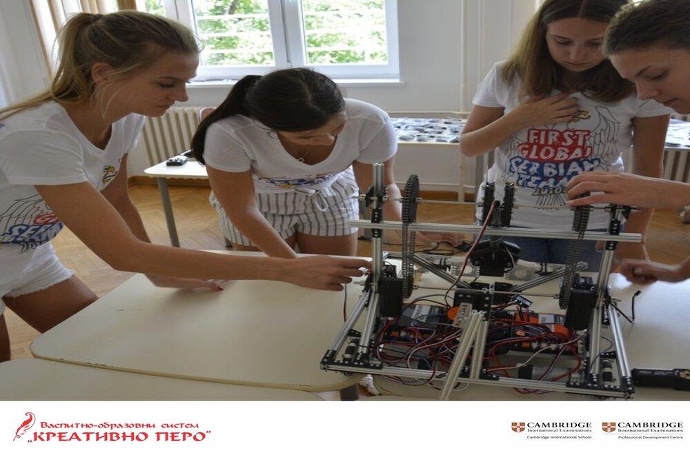 """Кreativno pero"" na međunarodnoj olimpijadi u robotci ""FIRST Global Challenge 2021 – Discover and Recover"""