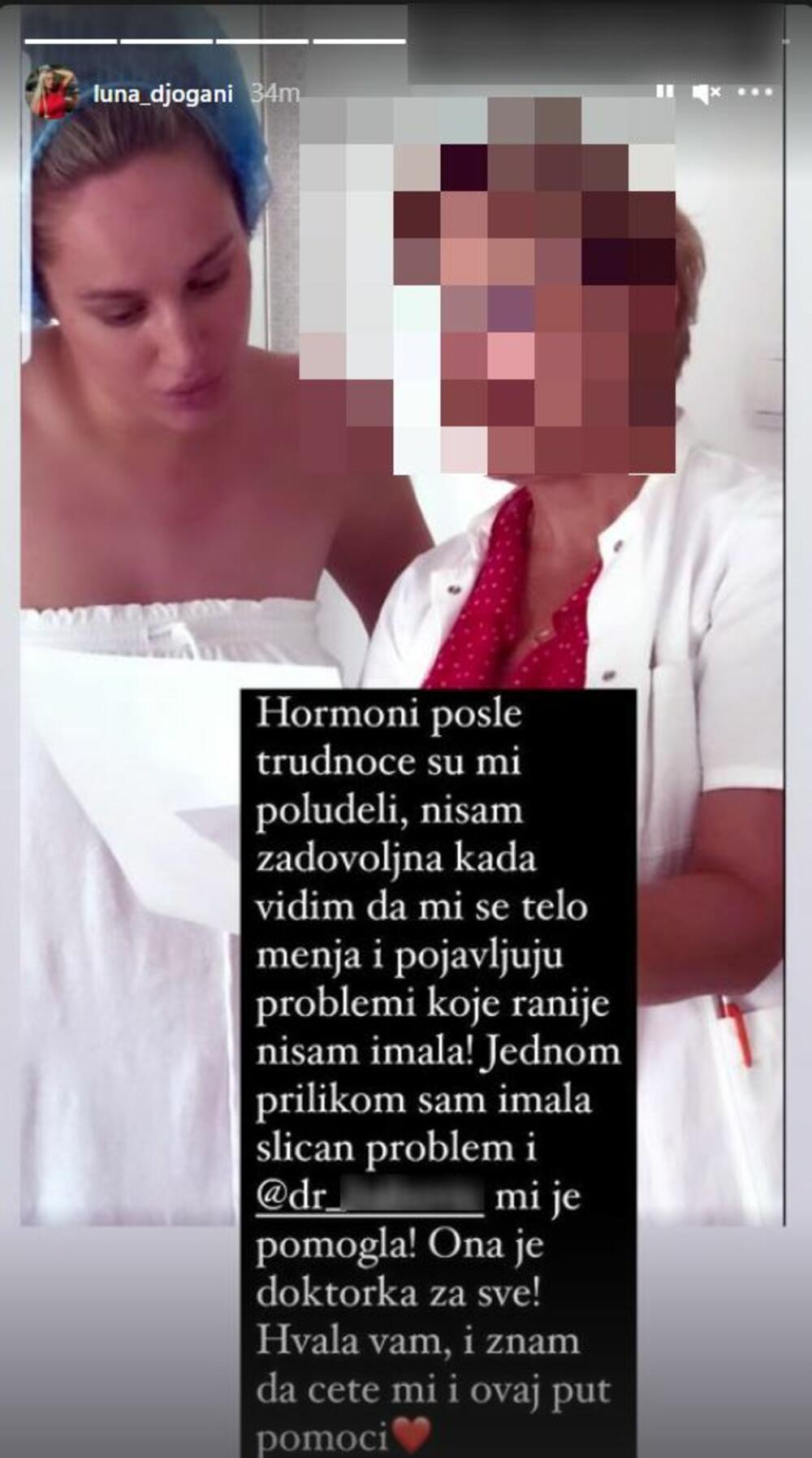 HORMONI SU MI POLUDELI POSLE TRUDNOĆE: Luna Đogani ZABRINULA pratioce, otkrila kakve ZDRAVSTVENE PROBLEME ima!