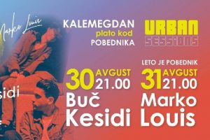 URBAN SESSIONS koncerti u Beogradu 30. i 31. avgusta na platou kod Pobednika Buč Kesidi i Marko Louis
