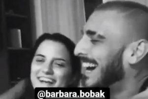 Darko objavio fotografiju sa Barbarom iz kreveta: Slika govori više od hiljadu reči
