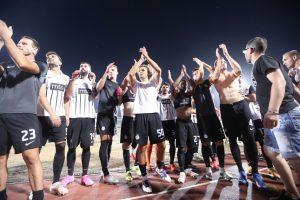 Partizan posle gola u 90. minutu i penal lutrije prošao u plej-of Lige konferencija!