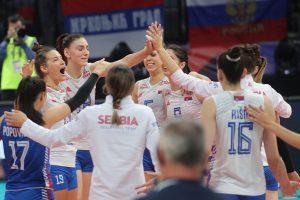 Srpske odbojkašice pobedile i Rusiju, zauzele prvo mesto u grupi!