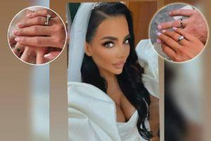 KRIJE MUŽA KO ZMIJA NOGE! Topalkova Helena udala se usred nedelje, a sad pokazala SKUPOCENE BURME od belog zlata