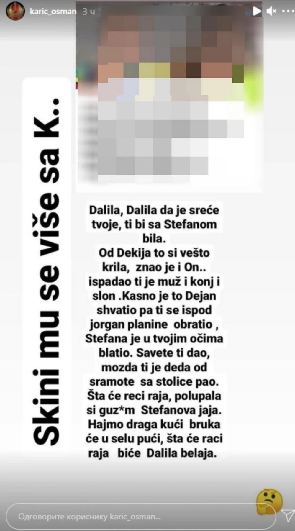 Otkrivena velika tajna Dalile Dragojević - raskrinkao je otac ovog zadrugara