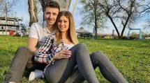 Stefan Petrušić postao tata, uputio dirljive reči izabranici Mariji!